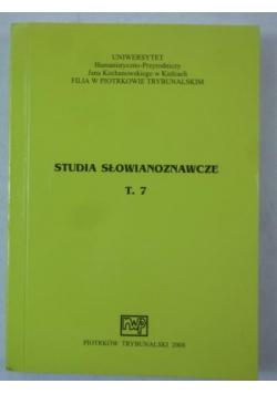 Studia słowianoznawcze