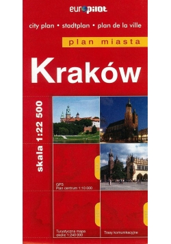 Plan Miasta EuroPilot. Kraków br