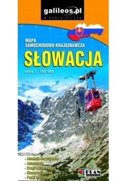 Mapa samochodowo-kraj. - Słowacja 1:500 000