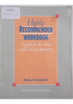 Highly Recommended Workbook