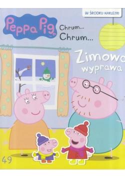 Świnka Peppa Chrum Chrum 49 Zimowa wyprawa