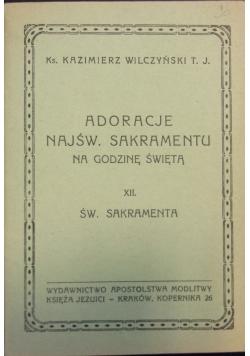 Adoracje Najśw. Sakramentu,  Tom XII, 1948 r.