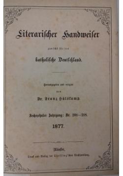 Literarische sandmeier katholiche deutchland, 1877 r.