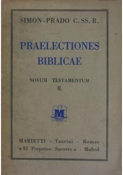 Praelectiones Biblicae
