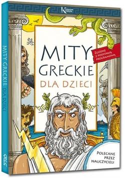 Mity greckie dla dzieci kolor BR GREG