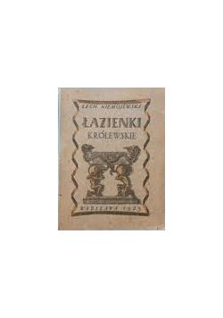 Łazienki królewskie, 1922r.