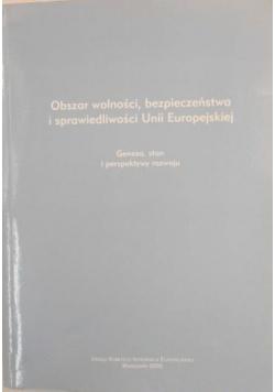 Obszar wolności, bezpieczeństwa i sprawiedliwości Unii Europejskiej