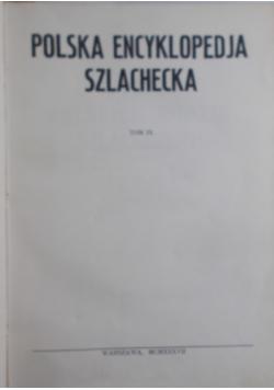 Polska encyklopedia szlachecka Tom IX, 1937 r.