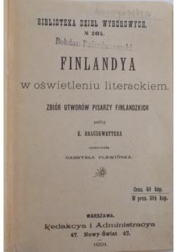 Finlandia w oświetleniu literackim, 1891 r.