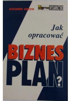 Jak opracować bizes- plan?