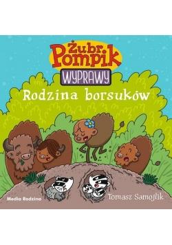 Żubr Pompik Wyprawy 4 Rodzina borsuków