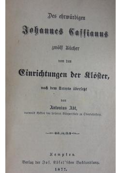 Des Ehrmurdigrn, 1877 r.