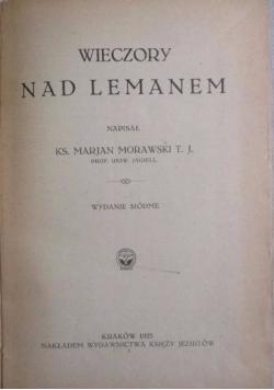 Wieczory nad Lemanem, 1923 r.