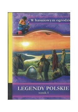Legendy Polskie tomik I. W baśniowym ogr. LIWONA