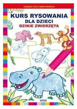 Kurs rysowania dla dzieci.Dzikie zwierzęta