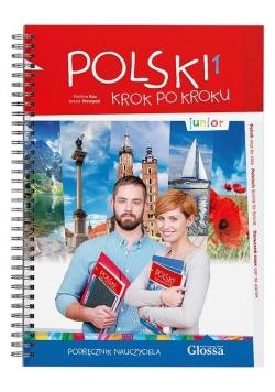 Polski krok po kroku. Junior A1. Podr. nauczyciela