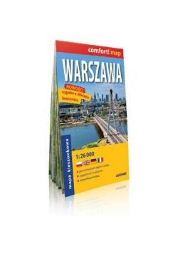 comfort! map Warszawa plan miasta
