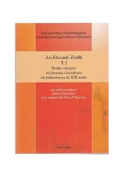 Studia z dziejów wychowania i kształcenia od średniowiecza do XIX wieku