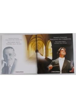 Francis Poulenc Dialogues des carmelites. Riccardo Muti Teatro Alla Scala + CD