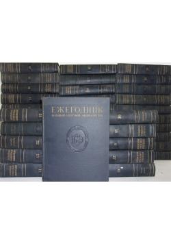 Wielka encyklopedia sowiecka, zestaw 41 książek