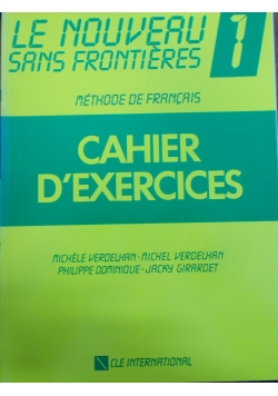 Cahier D'Exercices 1