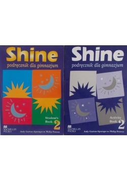 Shine. Podręcznik do gimnazjum - zestaw 2 książek