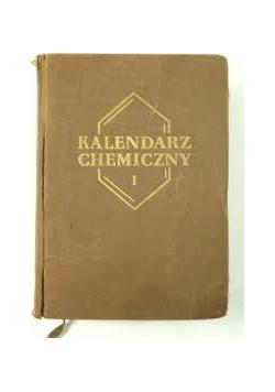 Kalendarz chemiczny Część I