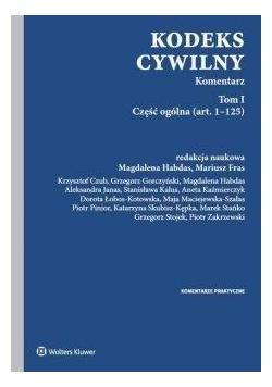 Kodeks cywilny T.1 Komentarz. Część ogólna
