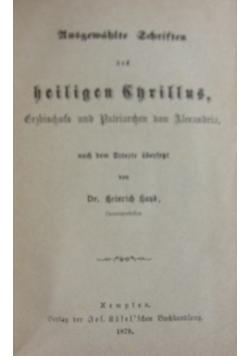 Ausgewahlte Schriften, 1879 r.