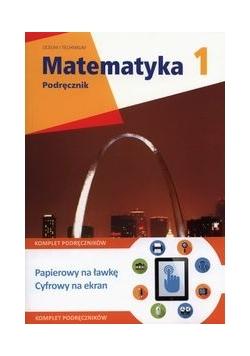 Matematyka z plusem 1 Podręcznik Zakres rozszerzony + multipodręcznik