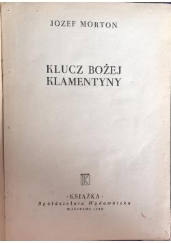 Klucz Bożej Klementyny, 1948 r.