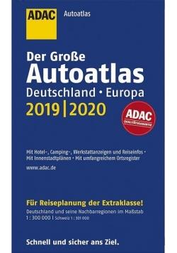 AutoAtlas ADAC. Deutschland, Europa 2019/2020