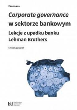 Corporate governance w sektorze bankowym...