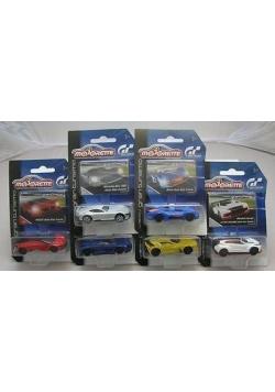 Auto Gran Turismo, 6 rodzajów