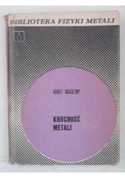 Kruchość metali