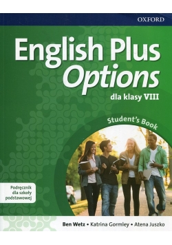 English Plus Options 8 Podręcznik z płytą CD