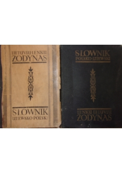 Słownik litewsko-polski/Słownik Litewsko-polski, 1940 r.