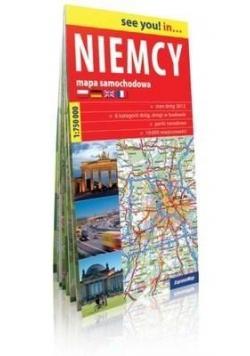 See you! in... Niemcy 1:750 000 mapa