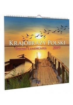 Kalendarz 2019 KD-35 Krajobrazy Polski AVANTI