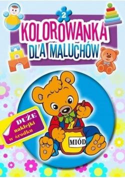 Kolorowanka dla maluchów 2