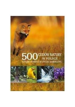 500 cudów natury w Polsce