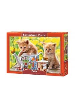 Puzzle 500 Czas na herbatę CASTOR
