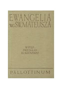 Ewangelia wg.Św.Mateusza