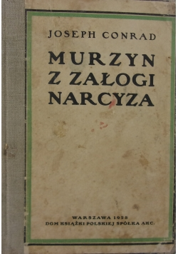 Murzyn z załogi narcyza, 1928r.