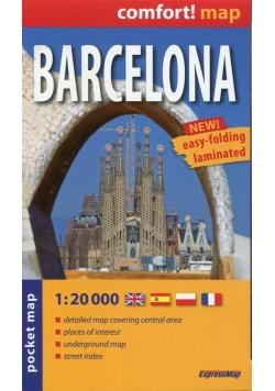 Barcelona city plan miasta 1:20 000