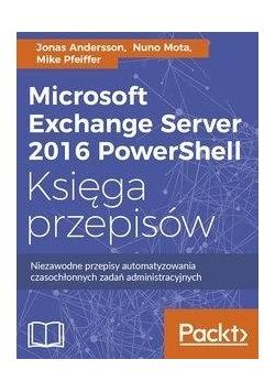 Microsoft Exchange Server 2016 PowerShell..