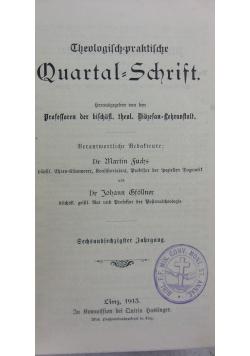 Quartal=Schrift,1913r.