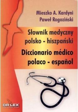 Słownik medyczny polsko - hiszpański