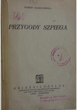 Przygody szpiega, 1925 r.