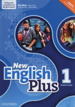 New English Plus 1 Podręcznik z repetytorium + CD